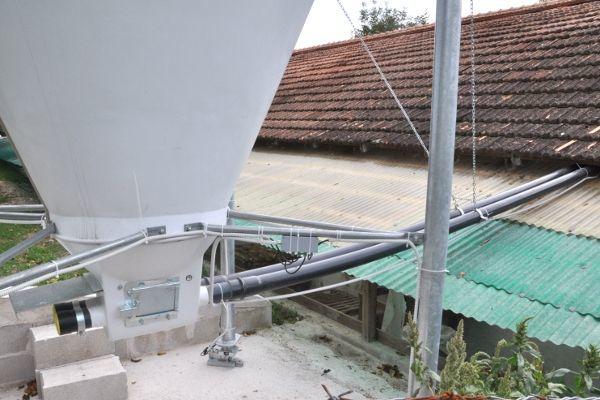 Estrazione da silos con coclea flessibile