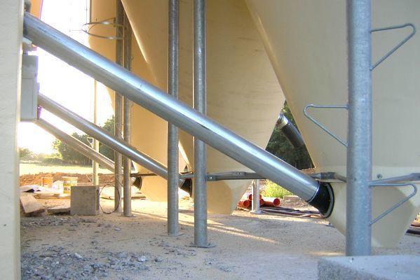 Impianto silos vetroresina